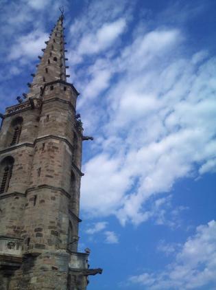 Dévégétalisation Clocher de l'église Saint-Martin - LIMOUX