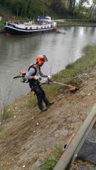 Débroussaillage Péret Canal du Midi - TREBES