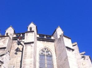 Dévégétalisation église St Vincent - CARCASSONNE